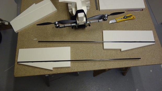 Энтузиаст собрал дрон в виде истребителя X-Wing. Изображение № 4.