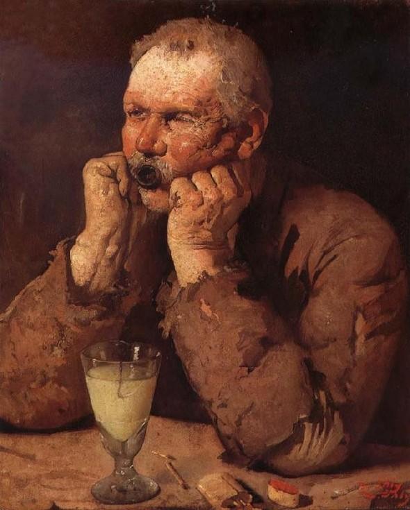 Жан Даниэль Или, Любитель абсента. Изображение № 21.