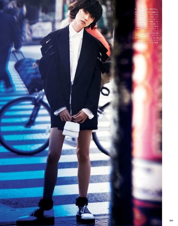 Съёмка: Тао Окамото для Vogue. Изображение № 7.