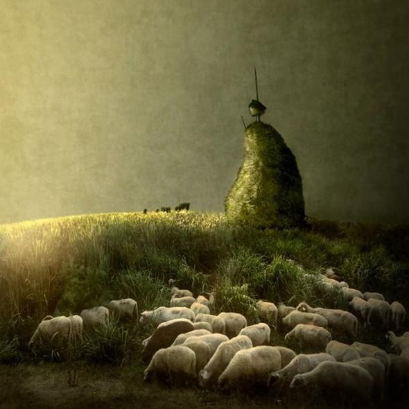 Загадочно-прекрасный мир болгарской фотохудожницы Магдалены Ванли. Изображение № 20.