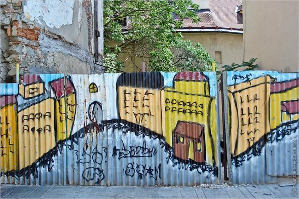 Стрит-арт и граффити Братиславы, Словакия. Изображение № 36.