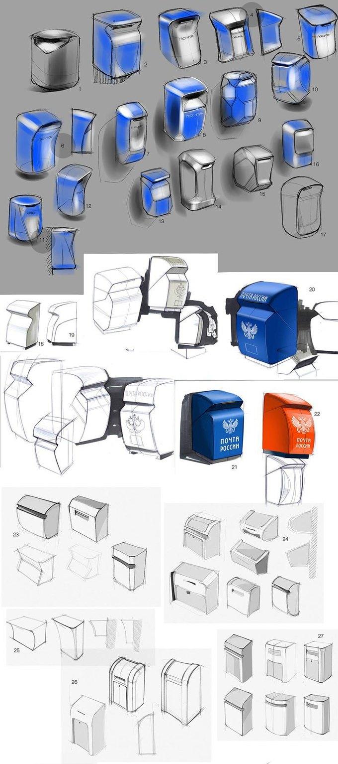 Студия Лебедева разработала дизайн почтовых ящиков. Изображение № 20.