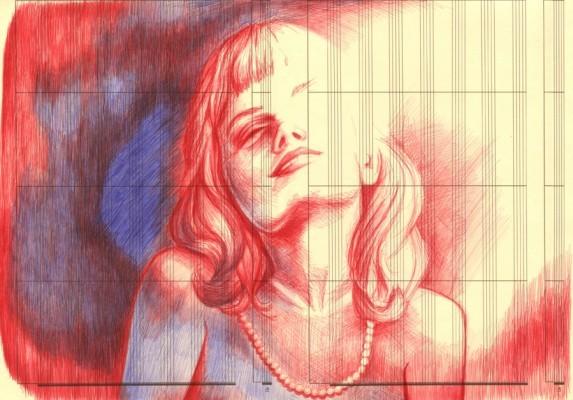 В пространстве рисунка: четыре художника. Изображение № 8.