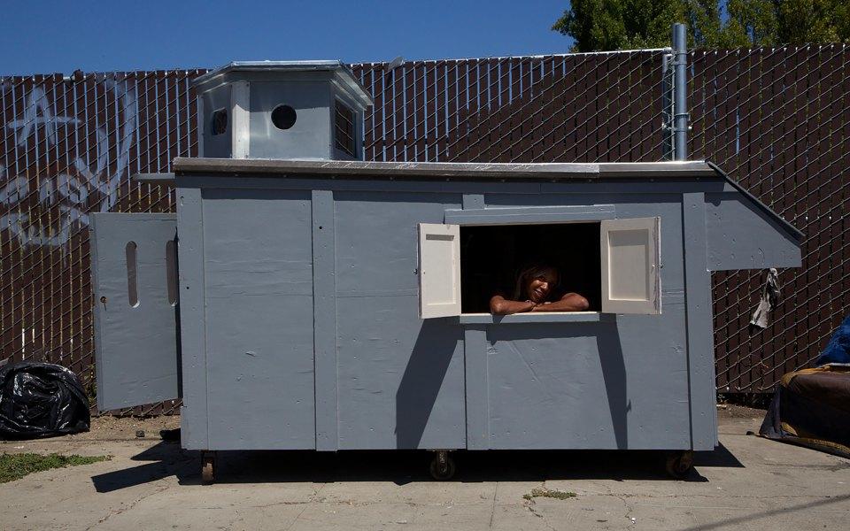 Фото: необычные проекты жилья для бездомных . Изображение № 2.