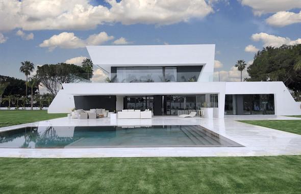 Дом Sotogrande от студии A-cero Architects. Изображение № 1.