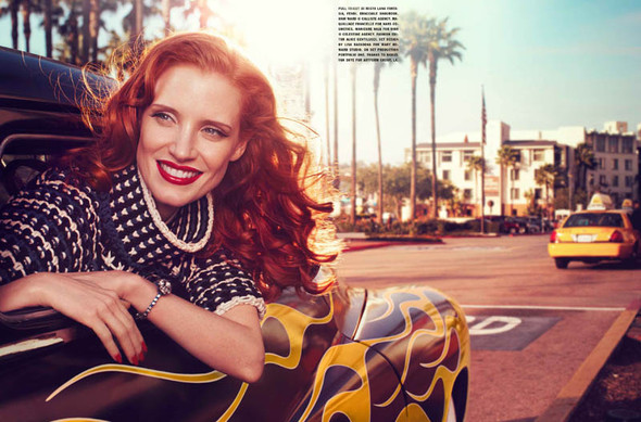 Съёмки: Harper's Bazaar, Interview, Vogue и другие. Изображение № 27.