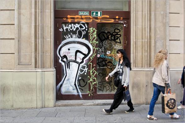 Стрит-арт и граффити Барселоны, Испания. Изображение № 41.