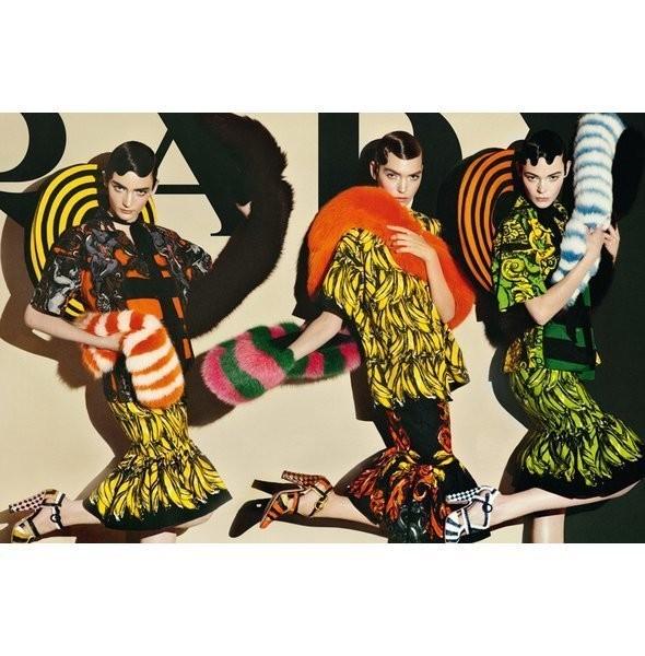 Изображение 35. Рекламные кампании: Lanvin, Prada, Balenciaga и другие.. Изображение № 12.