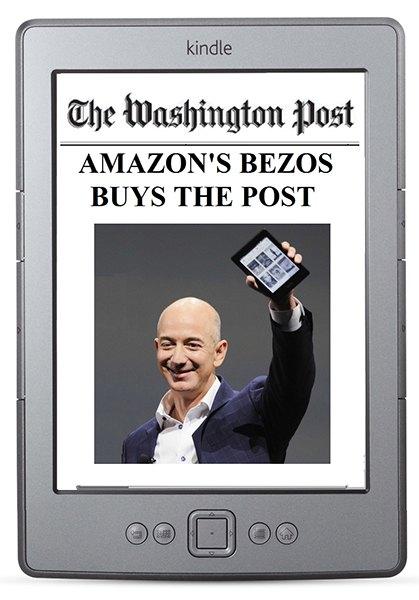 Основатель Amazon купил Washington Post. Изображение № 1.