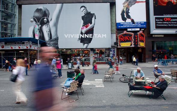 Площадь Таймс-сквер стала пешеходной. Изображение № 3.