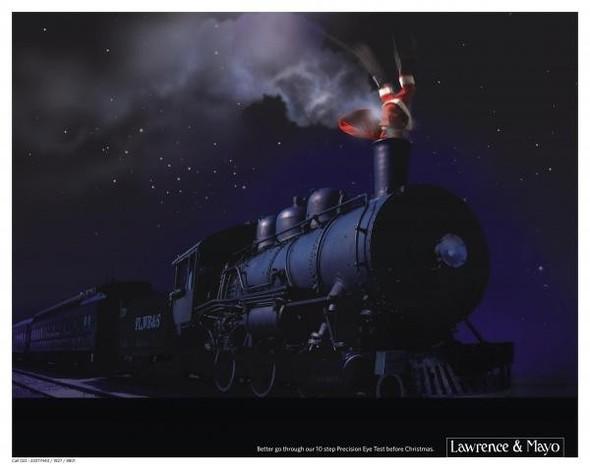 69 рождественских рекламных плакатов. Изображение № 41.