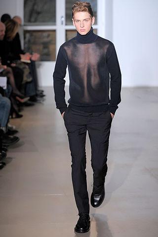 Что носить осенью: мужские показы в Милане. Изображение № 25.