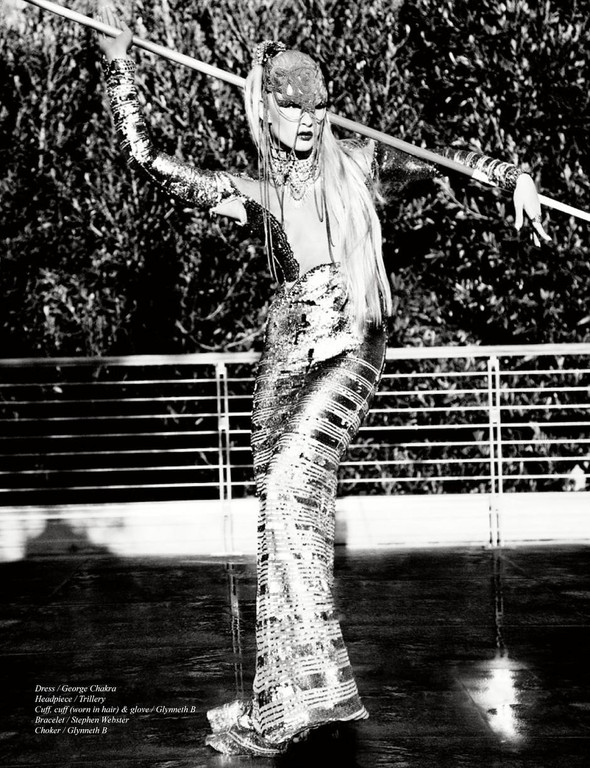 Съёмки: Playing Fashion, Schon, Vogue и другие. Изображение № 45.