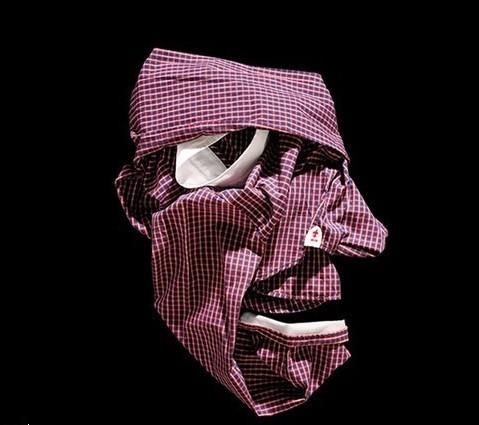 Лица, нарисованные одеждой, отBela Borsodi. Изображение № 8.