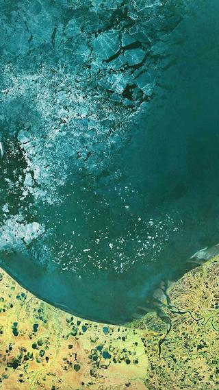 Сайт дня: обои для айфонов из спутниковых карт. Изображение № 24.