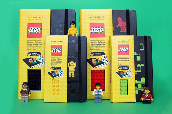 LEGO x Moleskine Notebooks Collection. Изображение № 1.