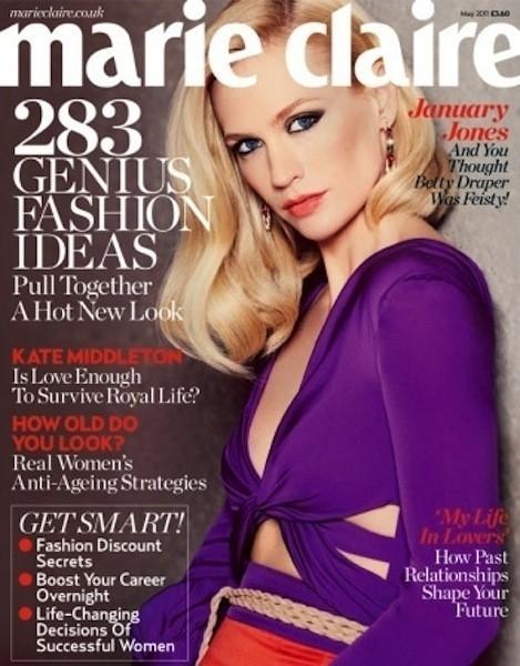 Коллекция Gucci SS 2011 появилась на 50 обложках журналов. Изображение № 40.