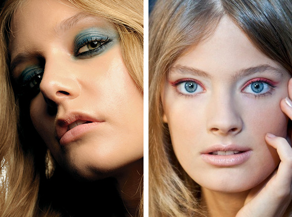 Изображение 7. Красная стрела: тенденции макияжа SS 2011.. Изображение № 6.
