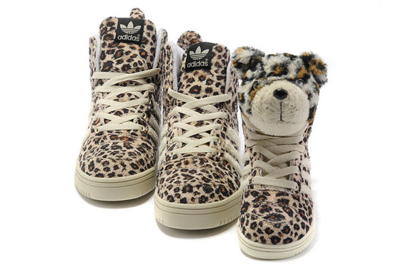 Adidas JS Leopard Tail High Top Shoes. Изображение № 3.