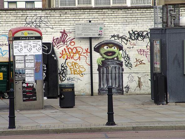 Стрит-арт в Лондоне. Изображение № 6.