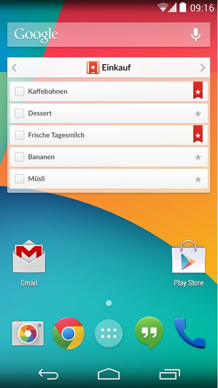 Редизайн дня: новый Wunderlist для iPhone и Android. Изображение № 2.