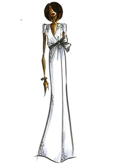 Дизайн одежды дляМишель Обамы. Изображение № 15.