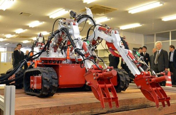 В Японии создали робота-«осьминога» для работ на«Фукусиме-1». Изображение № 1.