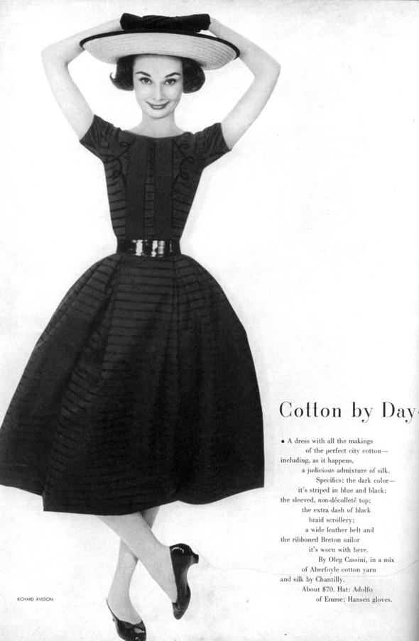 Архивная съёмка: Одри Хепберн в объективе Ричарда Аведона. Изображение № 4.