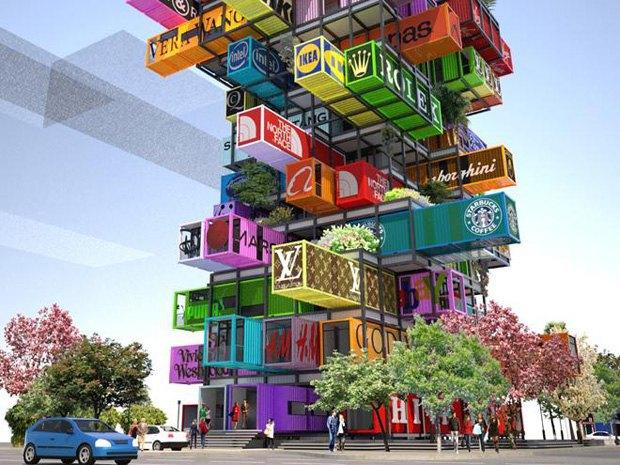Китайские архитекторы придумали отель-«дженгу». Изображение № 1.