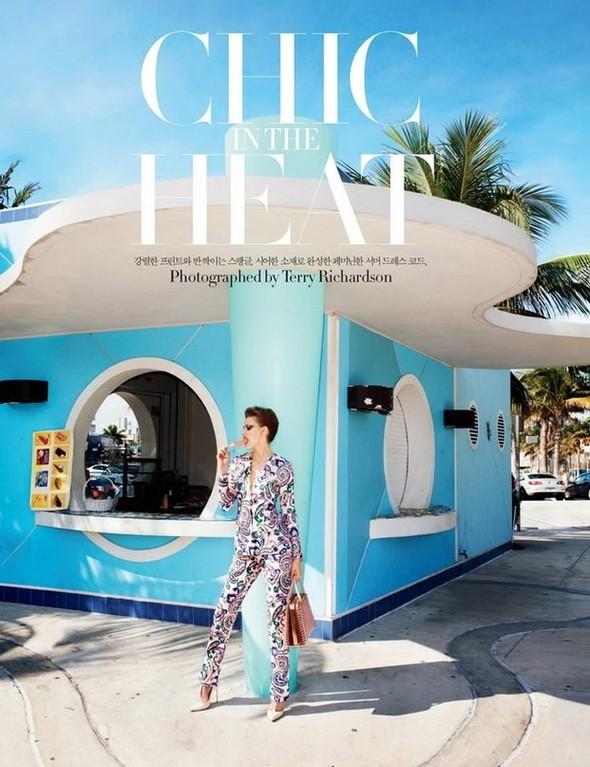 Lindsey Wixson for Harper's Bazaar Korea. Изображение № 4.