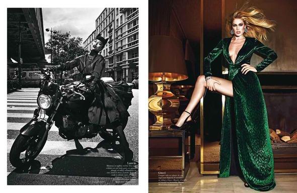 Стоп-кадр: Съемки Love, Vogue, Russh и Numero. Изображение № 8.