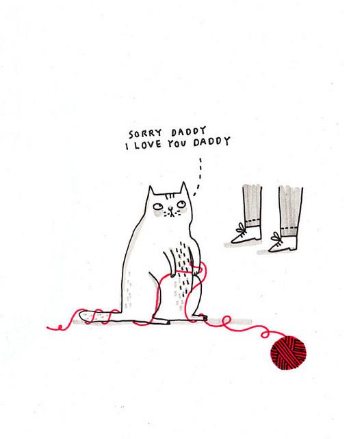 Gemma Correll и её коты. Изображение № 8.