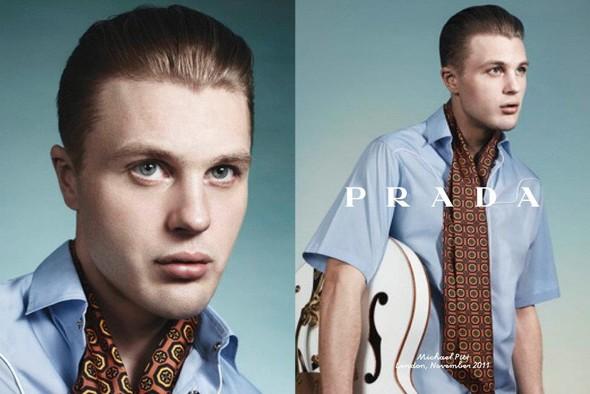 Кампания: Майкл Питт для Prada. Изображение № 2.