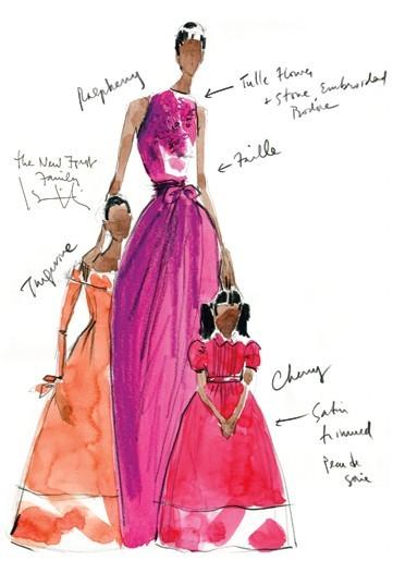 Дизайн одежды дляМишель Обамы. Изображение № 16.