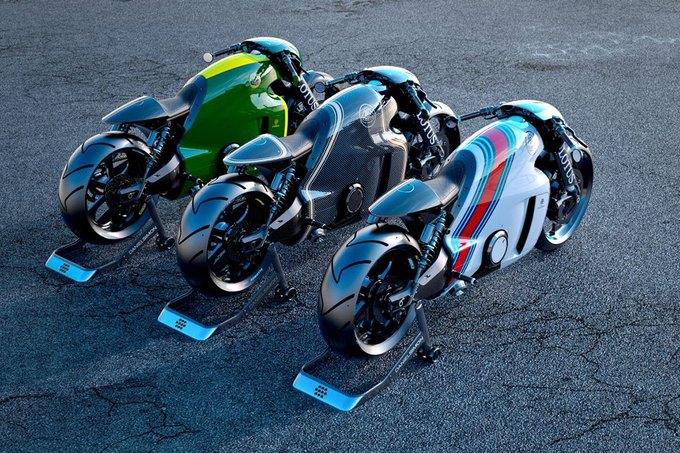 Дизайнер сиквела «Трона» создал супербайк. Изображение № 5.