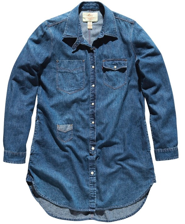 Джинсовое вдохновение: рубашка. Изображение № 20.