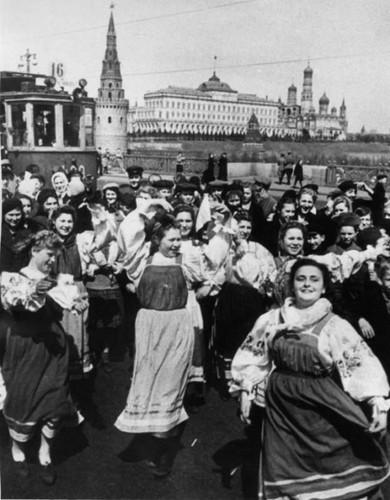 Парад победы, 1945 г.. Изображение № 119.