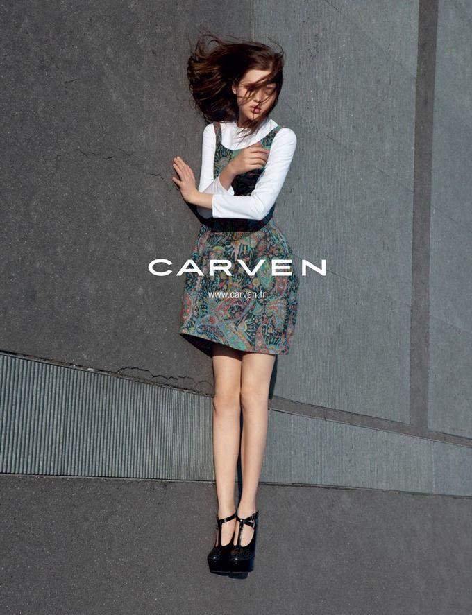 Вышли новые кампании Saint Laurent Paris, Kenzo и Carven. Изображение № 11.
