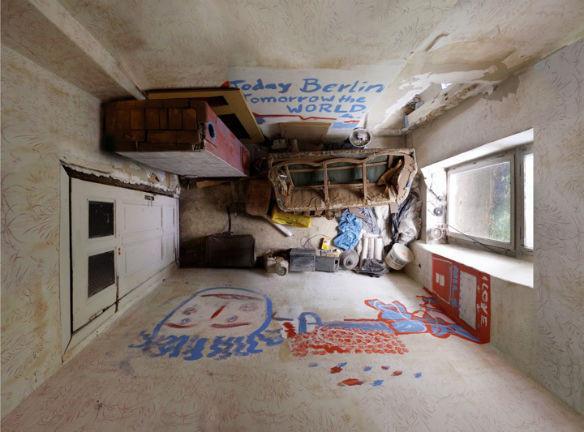 """Вид сверху лучше: """"Портреты комнат"""", сделанные с потолка. Изображение № 8."""