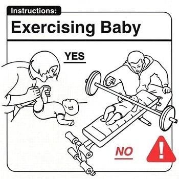 Инструкция поэксплуатации младенца. Изображение № 15.
