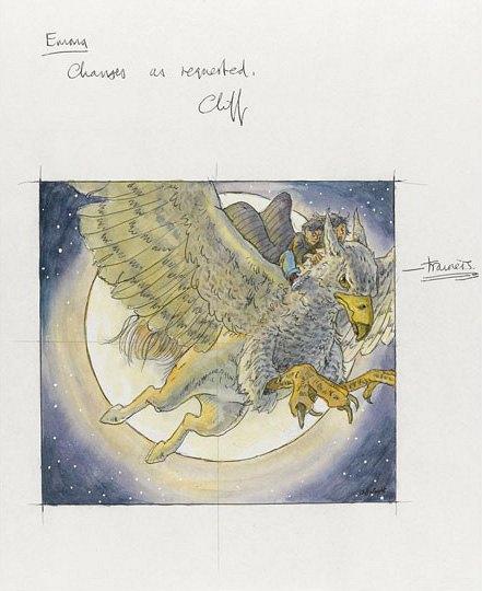 Выставленные на аукцион иллюстрации Клиффа Райта. Изображение № 1.