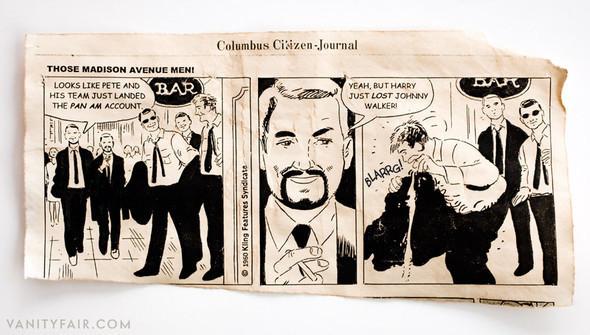 Комикс, давший жизнь сериалу Mad Men. Изображение № 3.