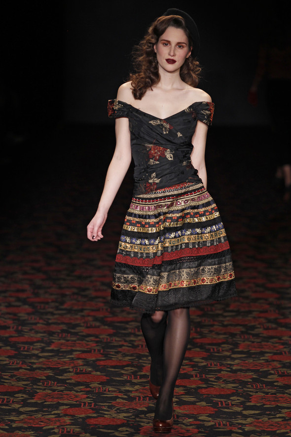Berlin Fashion Week A/W 2012: Lena Hoschek. Изображение № 73.