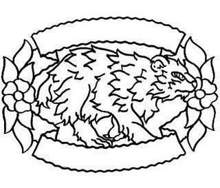 татуировка медведь значение. Изображение № 2.