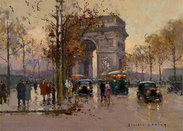 Эдуард Леон Кортес. Перенесёмся в Париж. Изображение № 6.