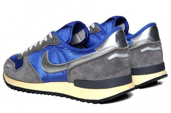 Nike Air Vortex VNTG – Varsity Royal – Metallic Silver. Изображение № 3.