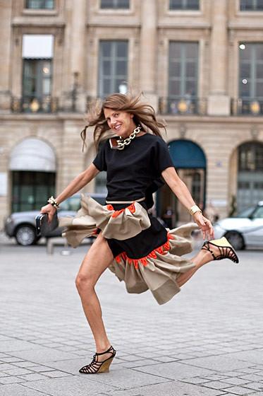 Уличный стиль на Неделе высокой моды в Париже. Изображение № 56.