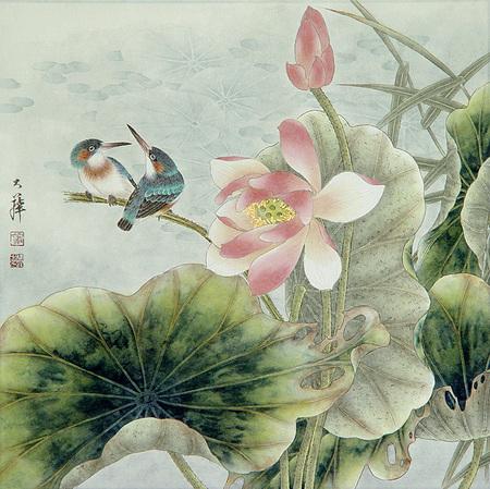 Птицы ицветы. Изображение № 9.