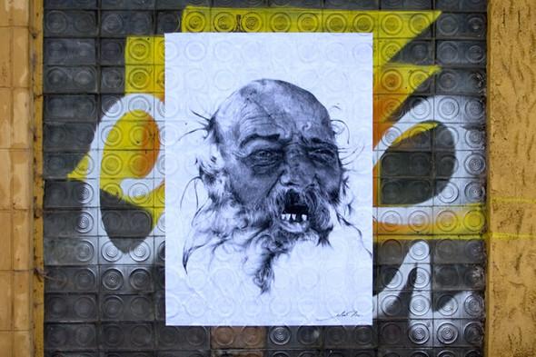 Стрит-арт от французкой команды Murmure - Artisme. Изображение № 12.