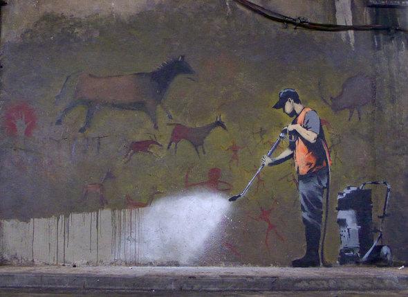 Изображение 8. Banksy (уличная мышь – герой).. Изображение № 8.
